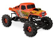 JConcepts Bog Hog - Mega Truck Body (Clear)