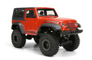 Jeep Wrangler Rubicon Body w Interior for 1/24 Crawlers