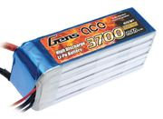 Gens Ace 3700mAh 6s (22,2V) 60C Lipo Battery Pack
