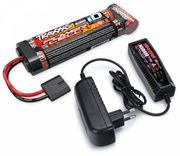 Traxxas Charger (2A) and 8,4V NiMH 3000mAh Hump iD Combo