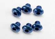Traxxas Aluminum 4x4mm Button Head Screws (6)