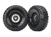 "Tires & Wheels Canyon Trail/Method 105 Black Chrome 1.9"" (2)"