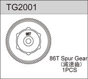 TeamC 86T Spur Gear