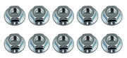 Associated M4 Serrated Wheel Nuts