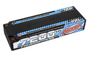 Team Corally X-Celerated 100C LiPo Battery 7200 mAh 7.4V Stick 2S 4mm Bullit