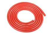Team Corally Ultra V+ Silicone Wire Super Flexible Red 14AWG 1018 / 0.05 Strands OD 3.5mm 1m