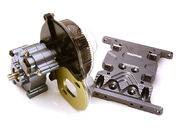 Integy Billet Machined Main Gearbox W/ Metal Gears For Axial SCX-10