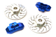 Integy Realistic Alloy Rear Brake Disc (2) for Traxxas 1/10 4-Tec 2.0