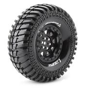 "Louise Tire & Wheel CR-ARDENT 1.9"" Black (2)"