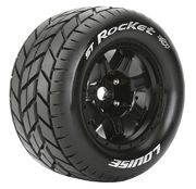 "Louise Tires & Wheels ST-ROCKET 3,8"" Black MFT 1/2-Offset (2)"