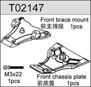 TeamC Front Chassis/Brace Mount (Updated)