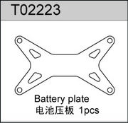 TeamC Battery Plate - Carbon