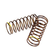 Tekno RC Shock Spring Set (front, 1.4×9.375, 4.00lb/in, 50mm, yellow)