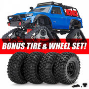 Traxxas TRX-4 TRAXX Edition with All-Terrain TRAXX RTR W/o Battery & Charger