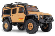 Traxxas TRX-4 1/10 Scale And Trail Crawler Land Rover Defender - Tan Edition Orange W/o Battery & Charger
