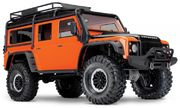 Traxxas TRX-4 1/10 Scale And Trail Crawler Land Rover Defender - Adventure Limited Edition Orange W/o Battery & Charger
