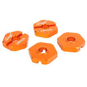 TeamC 14mm Hex - Orange (4)