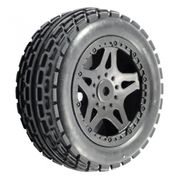 FTX Surge Front Buggy Mounted Wheels/tyres (2)