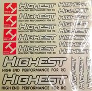 Highest Stickers A4