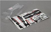 Team Losi  Micro Truggy Body Set, Clear