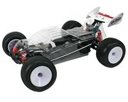 Hobao Hyper 10TTe Pro 1/10 Truggy 80% Rolling Chassis