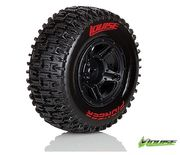 Louise SC - Pioneer SC Tyre With Black Rim For Traxxas Rear (Mounted) - Soft (2)