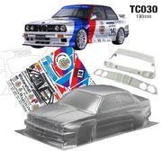 TeamC BMW E30 M30 1:10 Touring Car body 190mm - Unpainted