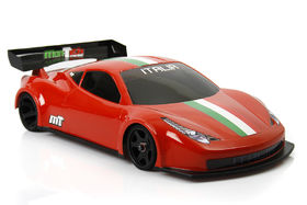 Mon-Tech Racing 1:12 Italia GT12 body - La Leggera - Unpainted