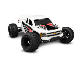 JConcepts Illuzion - 2012 Chevy 1500 - Rustler Clear Body