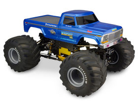 JConcepts 1979 Ford F-250 Monster Truck Clear Body