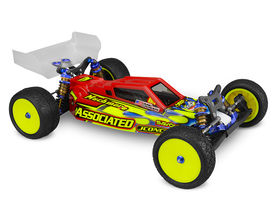 JConcepts F2 - B6 | B6D | B6.1 Body W/ Aero Wing - Clear