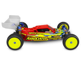 JConcepts F2 - B6 | B6D | B6.1 Body W/ Aero Wing Lightweight - Clear