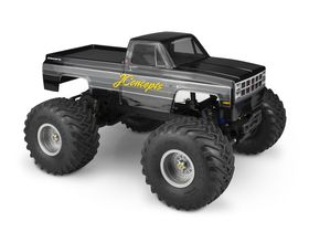 JConcepts 1982 GMC K2500 - Clear Body