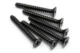 HPI Racing - TP. Flat Head Screw M4 x 30mm - Phillips Head - (6)