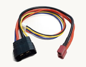 Halko Traxxas ID Male To Deans Female + XH - 3S - Charging Cable 20cm 14AWG