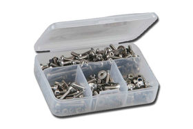 RCScrewZ Stainless Steel Racers 450 Piece Metric Kit for minis and micros
