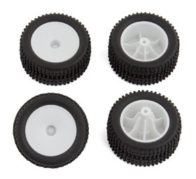 Team Associated Qualifier RC28T Wheels & Tyres (set)