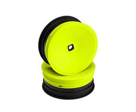 JConcepts Inverse 2.2 Front Wheel 12mm Hex B4.1 - Yellow (4)