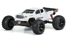 Pro-Line Pre-Cut Brute Bash Armor Body for ARRMA Outcast 6S & Notorious 6S (White)
