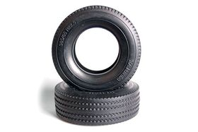 Tamiya Tractor Truck Tires - 30mm - Hard - (2 pcs)