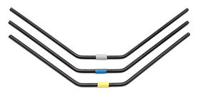 Team Associated RC8B3 FT Front Anti-roll Bars, 2.6-2.8mm