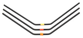 Team Associated RC8B3 FT Rear Anti-roll Bars, 2.8-3.0mm