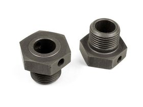 Xray Alu Wheel Axle Offset +1mm - Hard Coated (2)