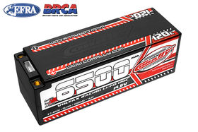 Team Corally Voltax 120C LiPo Battery 6500mAh 14.8V Stick 4S 5mm Bullit