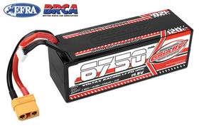 Team Corally Voltax 120C LiPo Battery 6750mAh 14.8V Stick 4S Hard Wire XT90