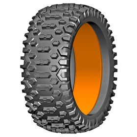 GRP - 1:6 BU-BIG -Cross - 183mm Donut Tire with Insert (2)