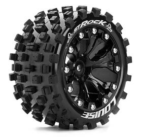 "Louise Tire & Wheel ST-ROCK 2,8"" Black 0-Offset (2)"