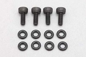 "Yokomo ""X"" Shock Ver II shock Aluminum cap drain screw (4) with O ring (8)"
