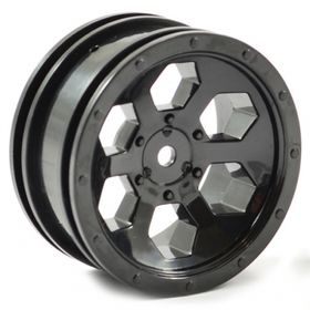 "FTX Outback 6hex 1.9"" Wheel (2) - Black"