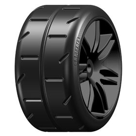 GRP 1:5 TC - W02 REVO NEW -  Mounted on Black Wheel - 1 Pair